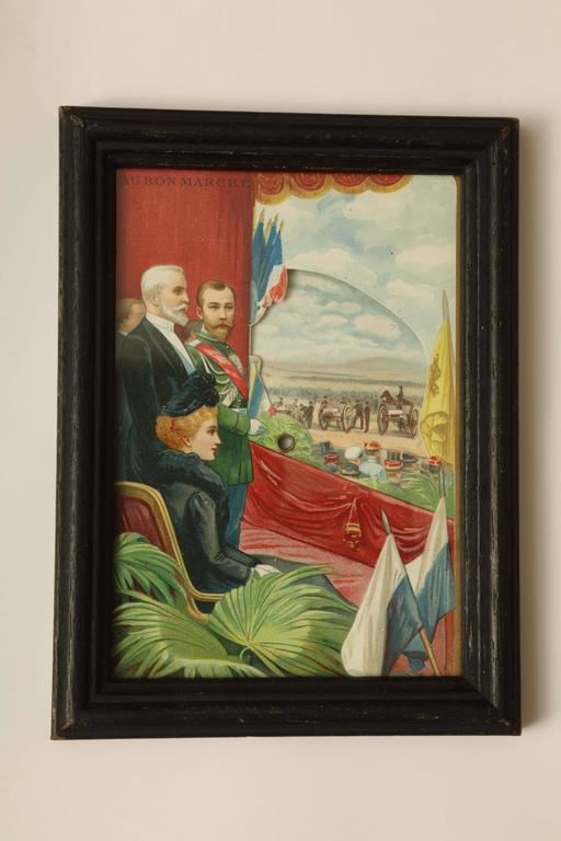 Three Commemorative Items of Franco-Russian Memorabilia, circa 1900 For Sale 2
