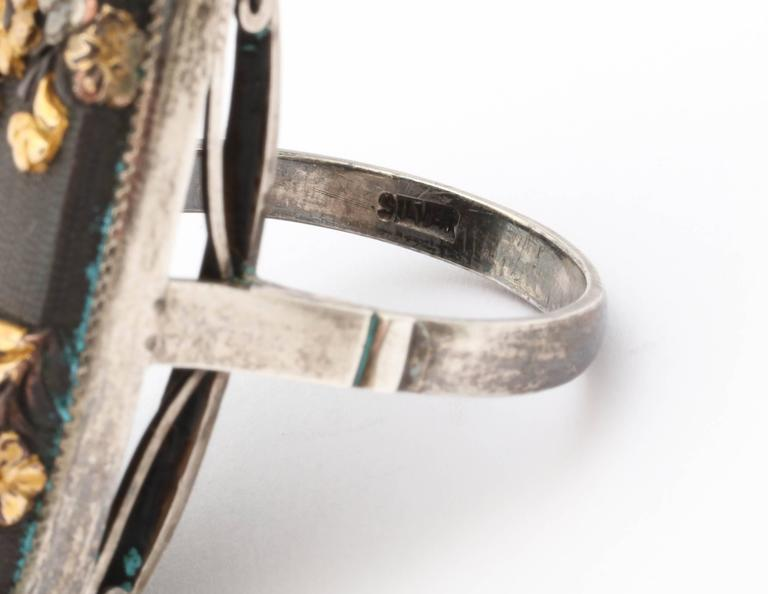 Victorian Japanese is Shakudo Ringed For Sale 2