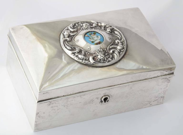 19th century american silver love letter box for sale at for Rj jewelry loan company