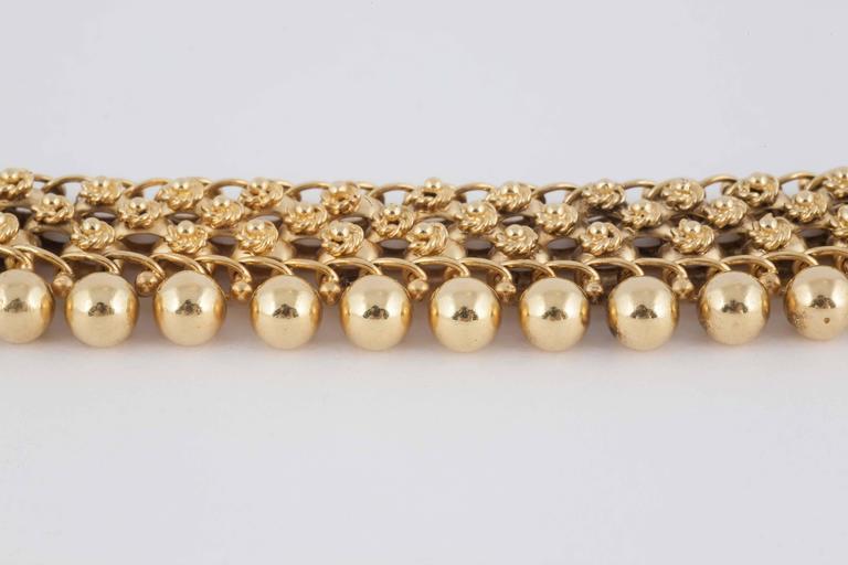 19th Century English Gold Collar Necklace 4