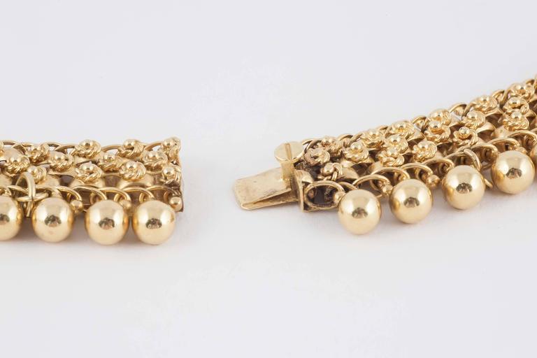 19th Century English Gold Collar Necklace 6