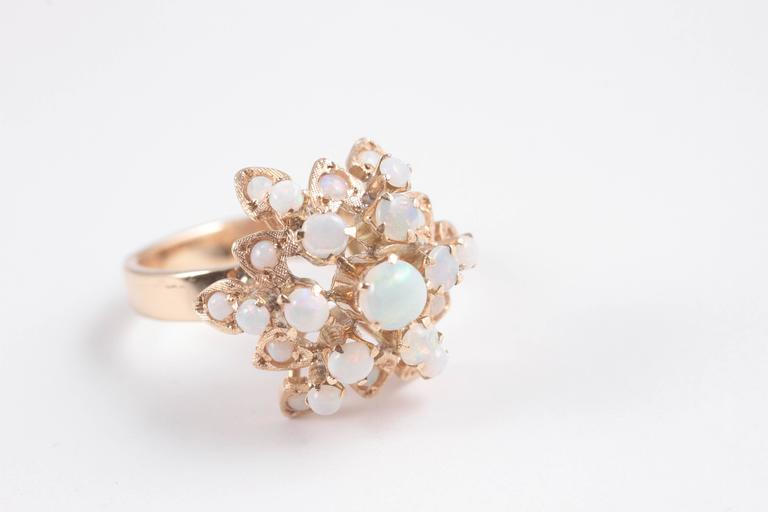 Gold Opal Harem Ring 5