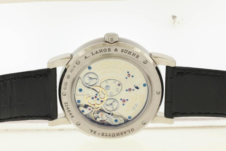 "Lange and Sohne Platinum Yellow Gold ""1815"" World Time ..."