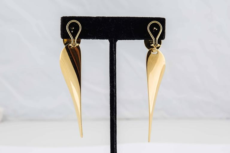 George Jensen gold earrings  5
