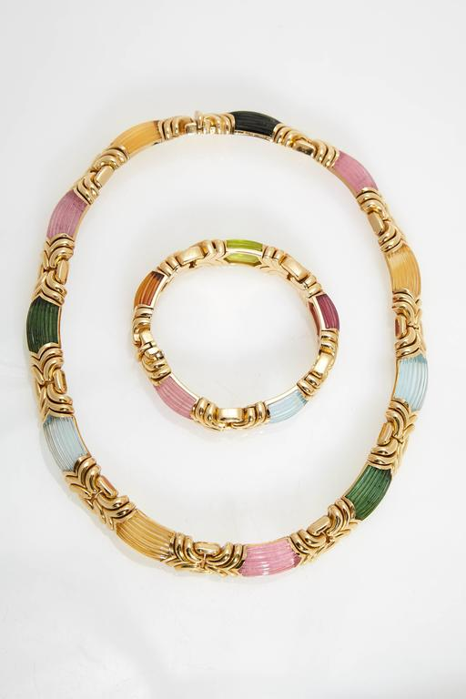 A Bulgari set from the
