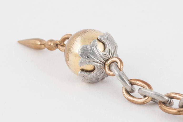 Antique Aluminium Drop Earrings 5