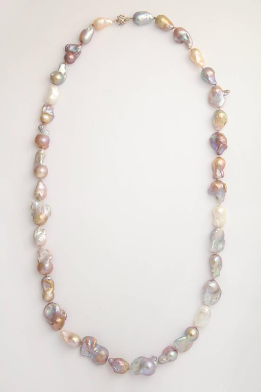 baroque catawiki necklace kavels with pearls
