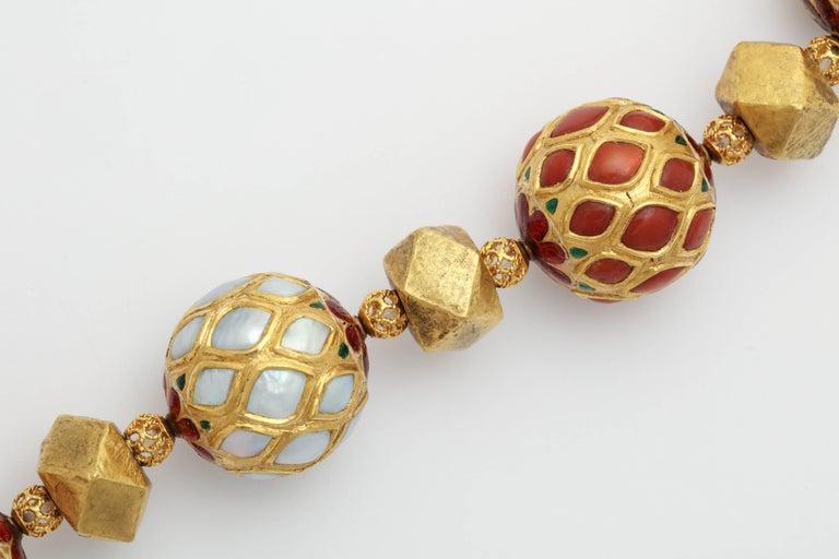 Multi Gem Nine Planet Necklace For Sale 1