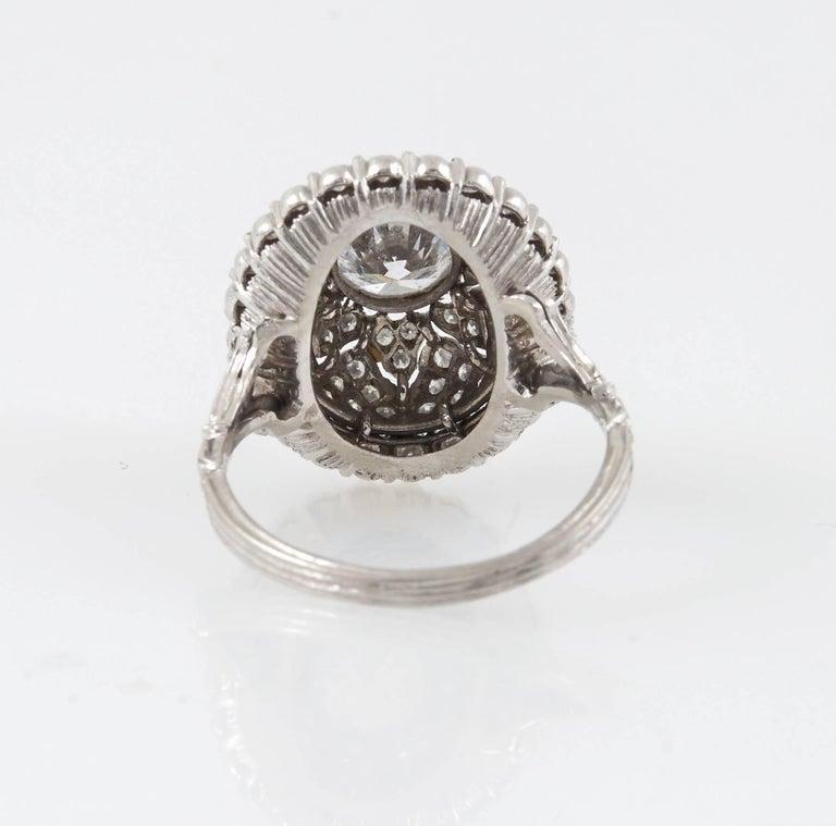 Mario Buccellati Platinum and Diamond Ring 1
