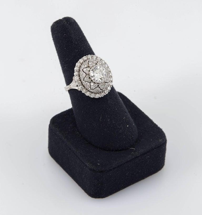 Mario Buccellati Platinum and Diamond Ring 2