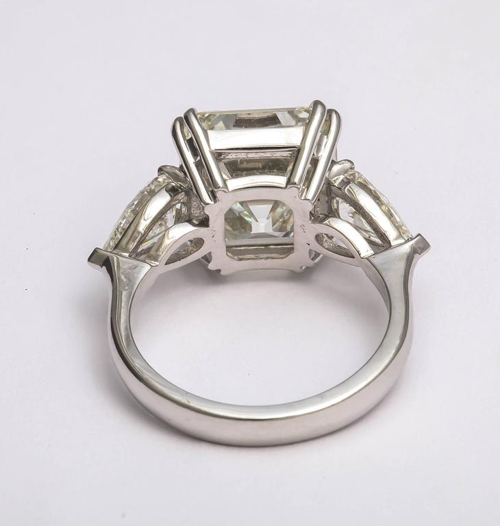 Sensational Emerald Cut Diamond Ring For Sale 1