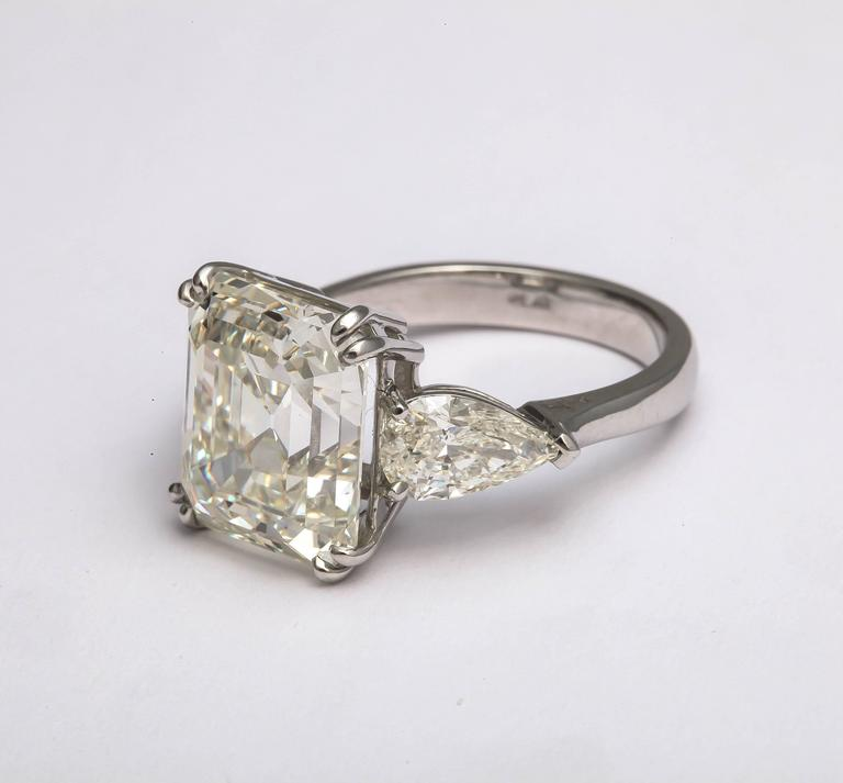 Sensational Emerald Cut Diamond Ring For Sale 2
