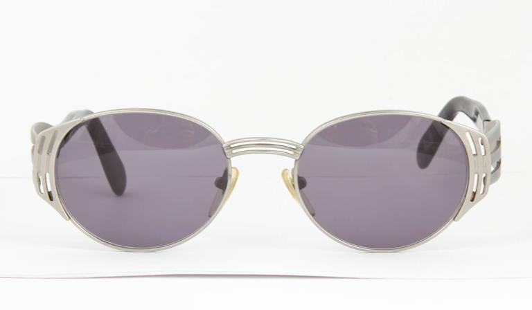 Jean Paul Gaultier Vintage 56-3281 Fork Sunglasses For Sale 1