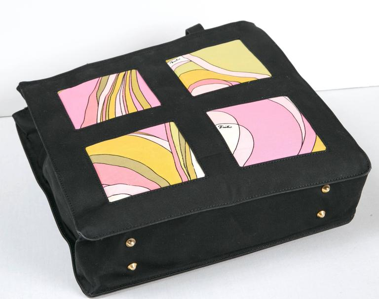 Women's Unusual Pucci tote, purse or day bag by funky finders For Sale