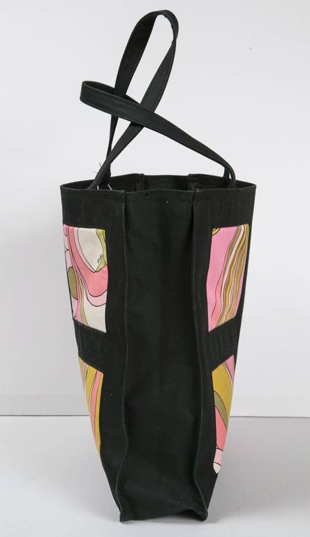 Unusual Pucci tote, purse or day bag by funky finders For Sale 2