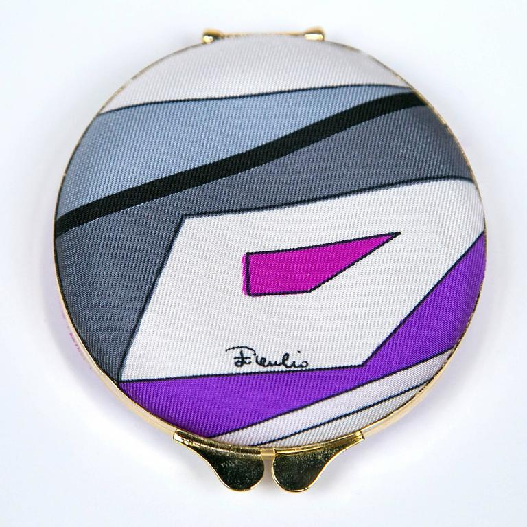 Scarce Vintage Pucci Compact in Box By Funky Finders  3