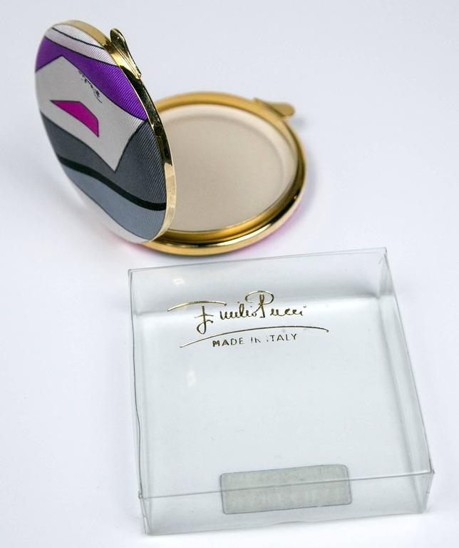 Scarce Vintage Pucci Compact in Box By Funky Finders  6
