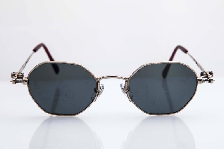 Silver Jean Paul Gaultier Sunglasses