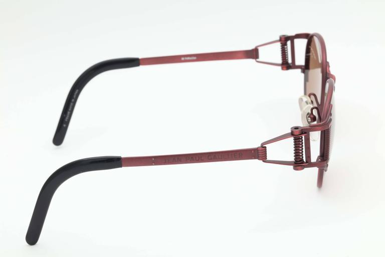 Vintage Jean Paul Gaultier Sunglasses 56-5105  For Sale 2