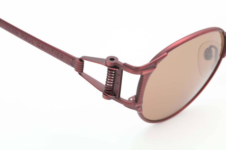 Vintage Jean Paul Gaultier Sunglasses 56-5105  For Sale 5