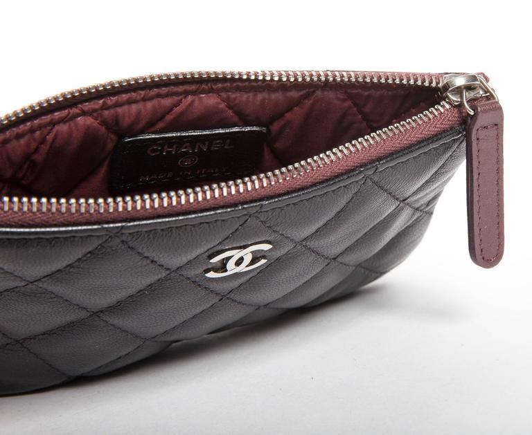 Women's Chanel Top Zip Makeup Bag For Sale