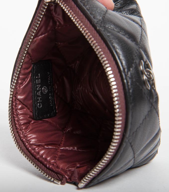 Chanel Top Zip Makeup Bag For Sale 1