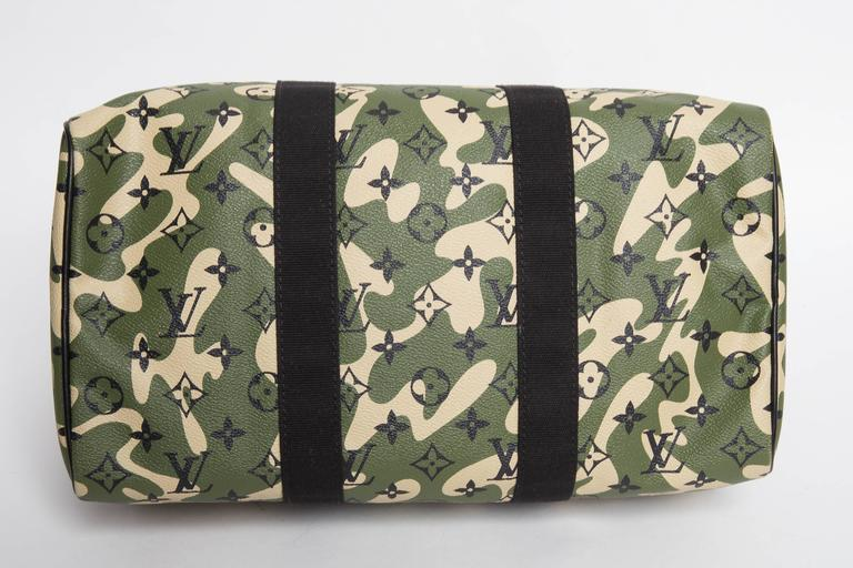 Louis Vuitton Speedy 35 Camouflage Monogramouflage At 1stdibs