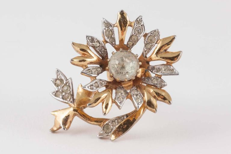 Rare Christian Dior 'en tremblant' earrings, 1950s 2