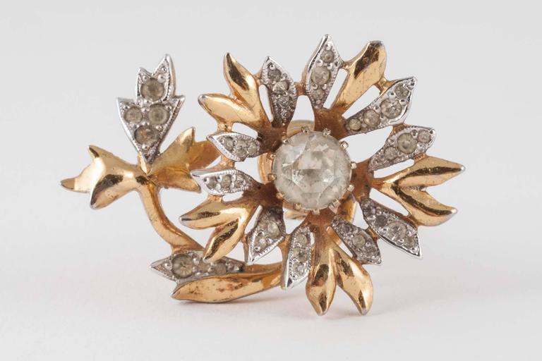 Rare Christian Dior 'en tremblant' earrings, 1950s 6