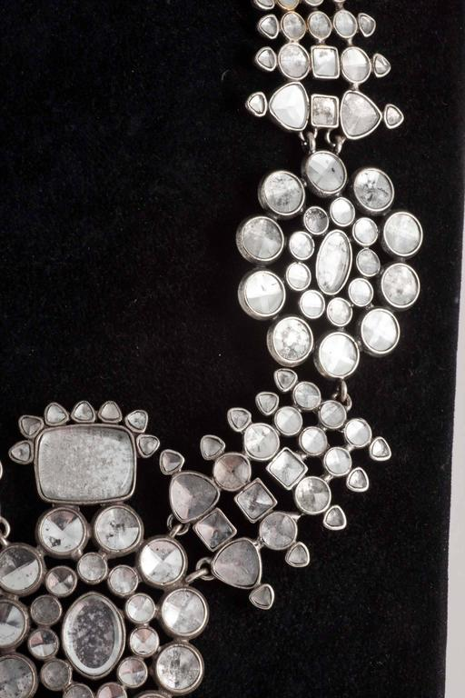 Majestic Moghul style necklace and matching drop earrings, Tom Ford for YSL 3