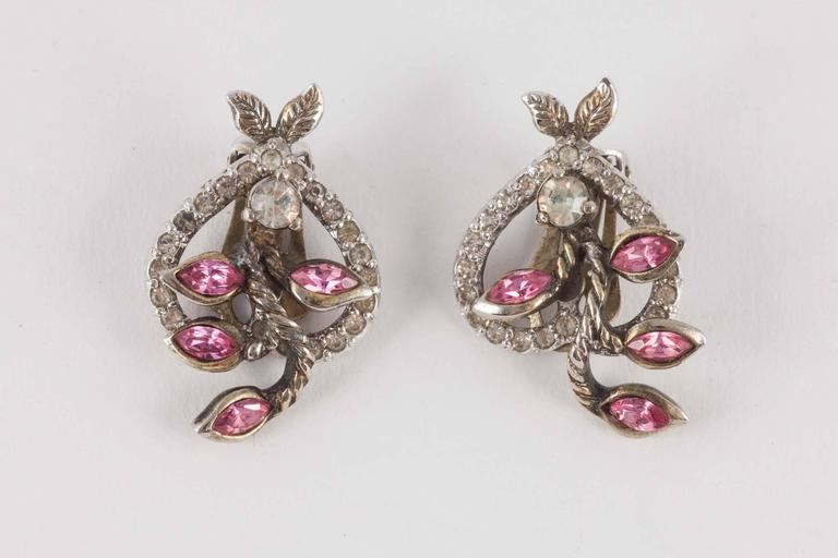 """Christian Dior by Mitchel Maer """"Entwined Heart"""" necklace and earrings  5"""