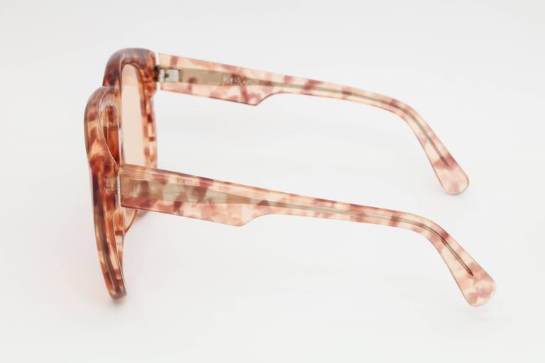 Large Vintage Yves Saint Laurent Sunglasses 2