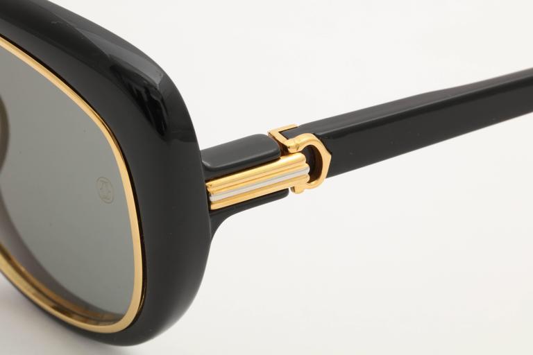 Vintage Cartier Conquete Sunglasses 2