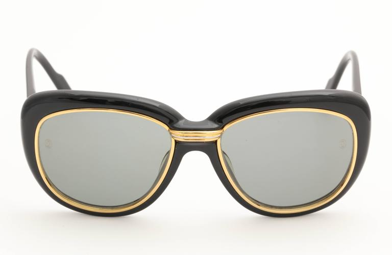 Vintage Cartier Conquete Sunglasses For Sale 1