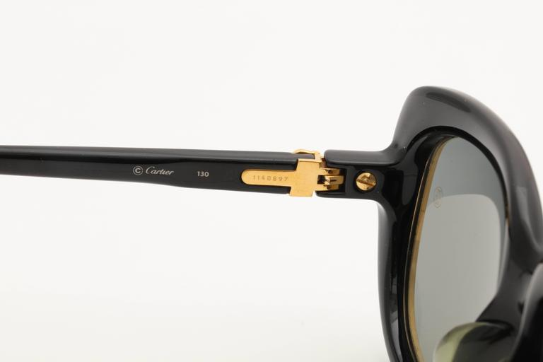 Vintage Cartier Conquete Sunglasses For Sale 3