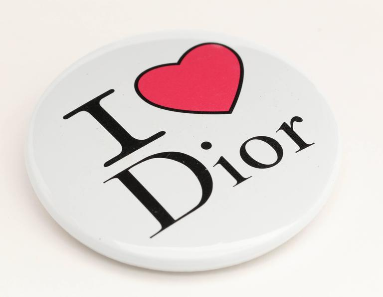 Christian Dior by John Galliano I Heart Dior Pin 3