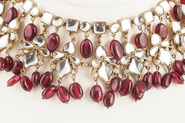 Kenneth Jay Lane Moghul style necklace, 1960s 2