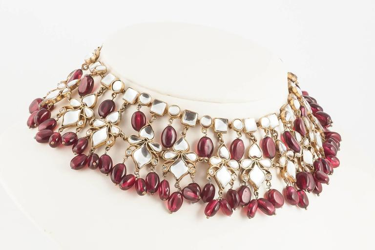 Kenneth Jay Lane Moghul style necklace, 1960s 3