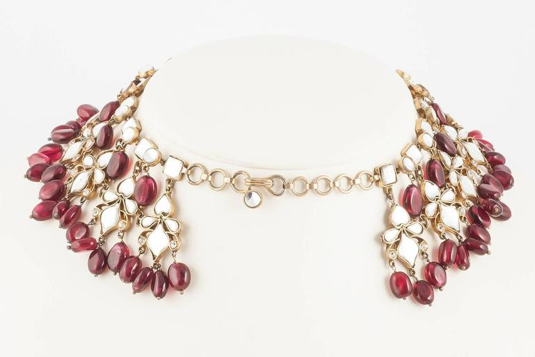 Kenneth Jay Lane Moghul style necklace, 1960s 4