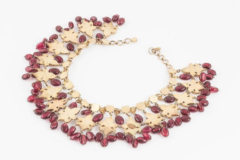 Kenneth Jay Lane Moghul style necklace, 1960s 6