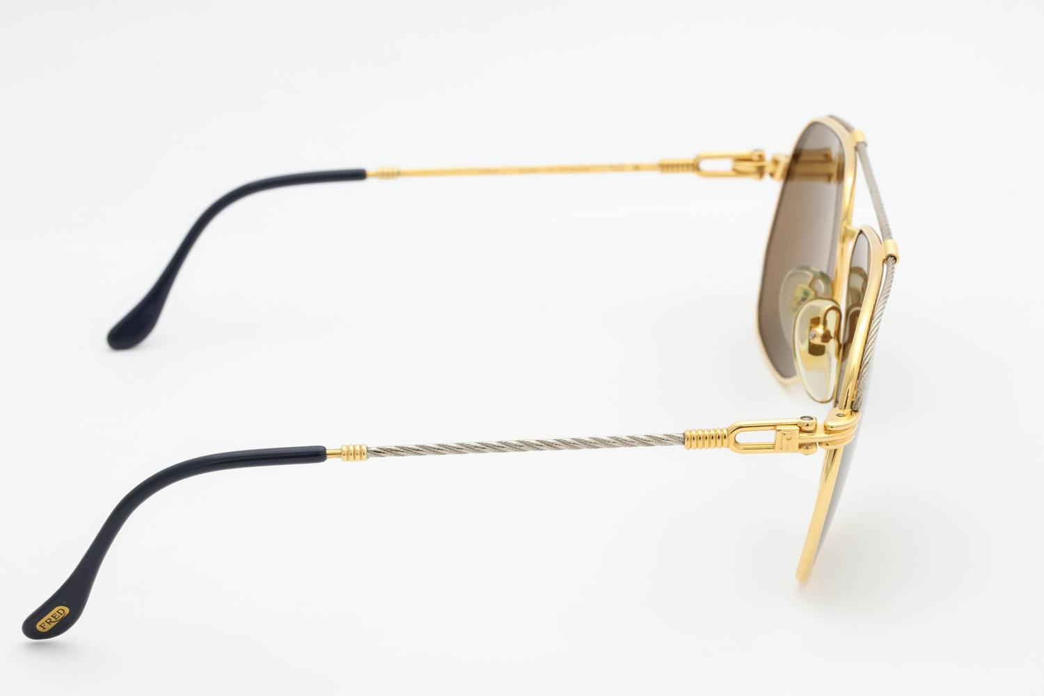 a8ae7ca70cfb Vintage Fred America Cup Sunglasses For Sale