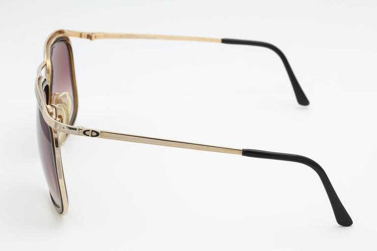 Vintage Christian Dior Monsieur 2199 Sunglasses 2