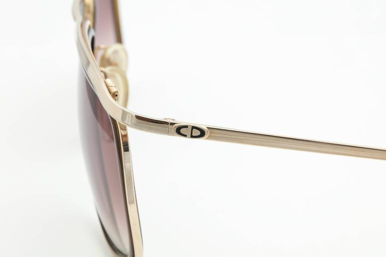 Vintage Christian Dior Monsieur 2199 Sunglasses 3
