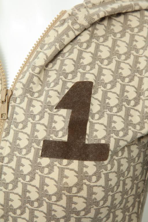 John Galliano for Christian Dior Light Brown Trotter Logo Sweatshirt 2