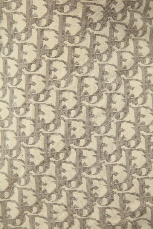 John Galliano for Christian Dior Light Brown Trotter Logo Sweatshirt 3