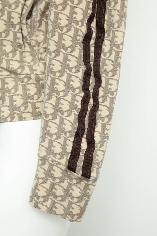 John Galliano for Christian Dior Light Brown Trotter Logo Sweatshirt 5