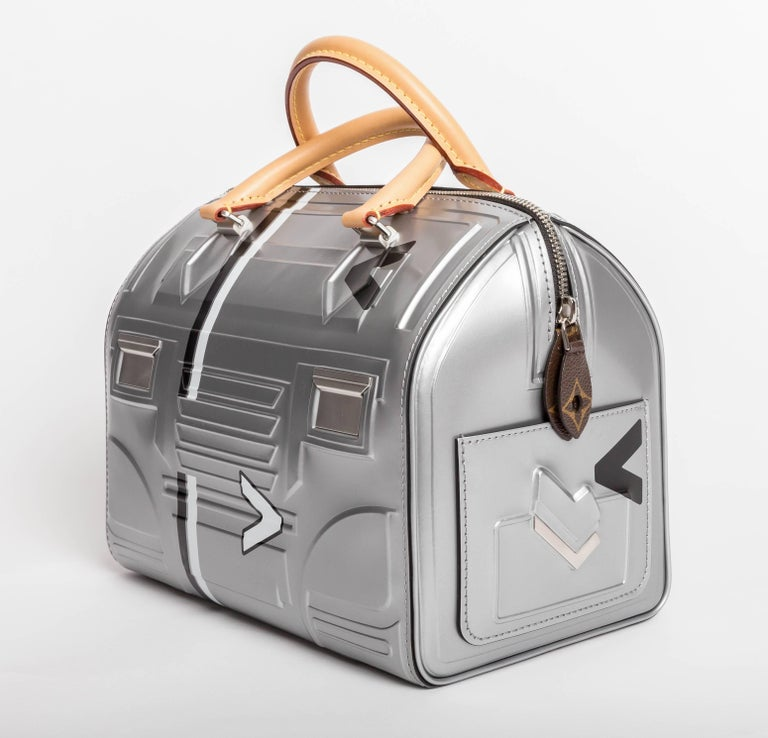Louis Vuitton Limited Edition Space Silver Leather Speedy 25 - 2017 2