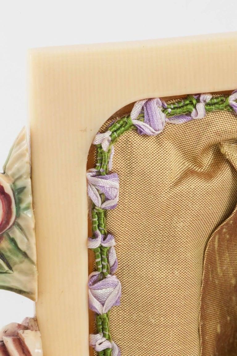 Embroidered silk small handbag, English, 1920s For Sale 2