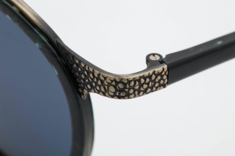 Gray Vintage Jean Paul Gaultier Sunglasses 56-9273 For Sale