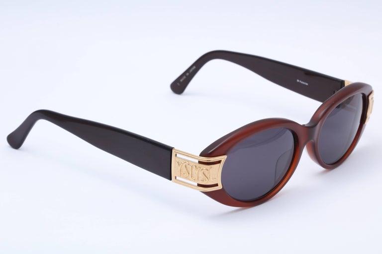 Women's or Men's Vintage Yves Saint Laurent YSL Sunglasses  For Sale